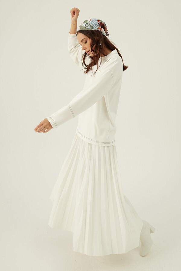 Alen Basic Takım Beyaz