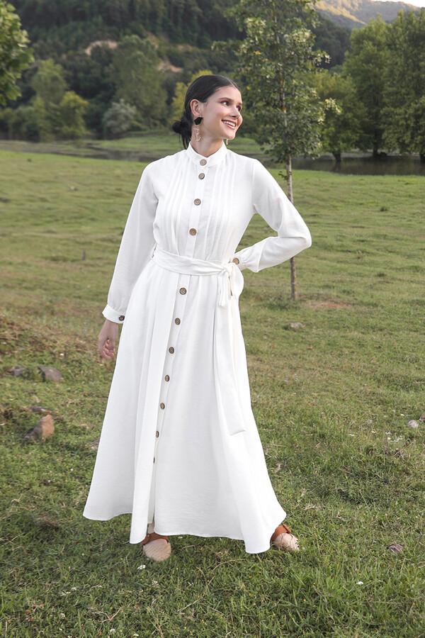 emiles - Bella Elbise Beyaz