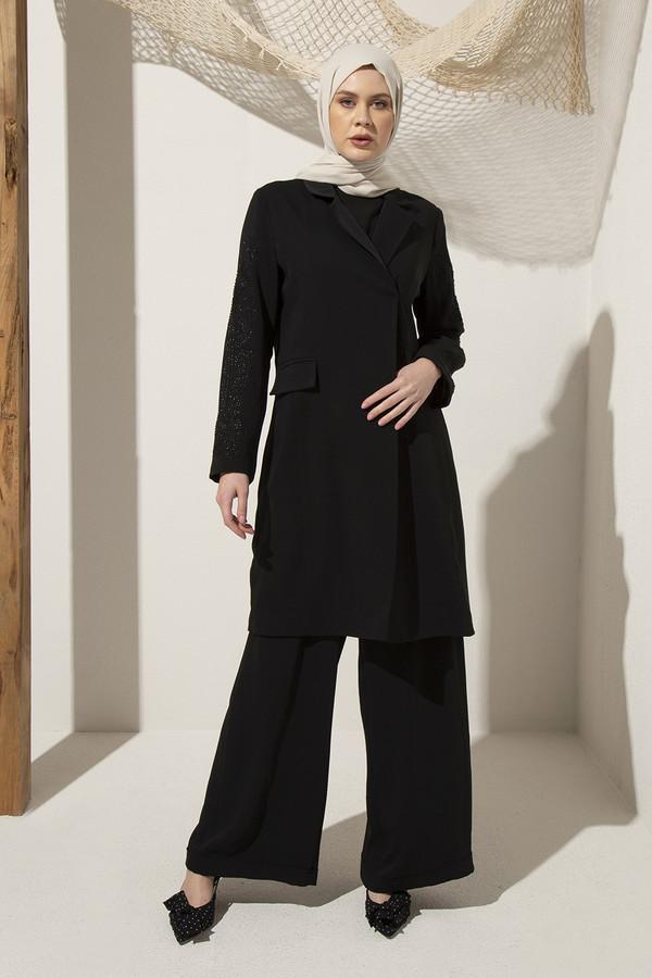 emiles - Desina Ceket Takım Siyah