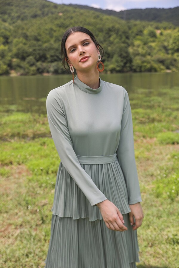 emiles - Serafin Elbise Su Yeşili